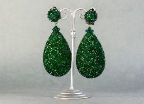 pendientes-swarovski-vintage by lopez linares-daimiel-verde (2)