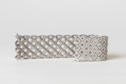 Pulsera de plata y circonitas