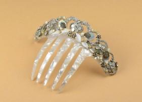 Pendientes de novia vintage en plata
