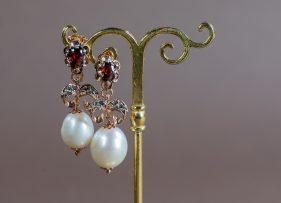 pendientes-vintage-plata-dorada-almibar-perla (2)