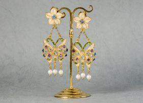 pendientes-vintage-plata-mariposas (2)