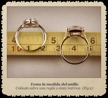 Tallajes anillos foto 2