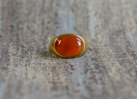 anillo-vintage-plata-dorada-La Gravida- Raffaello (2)