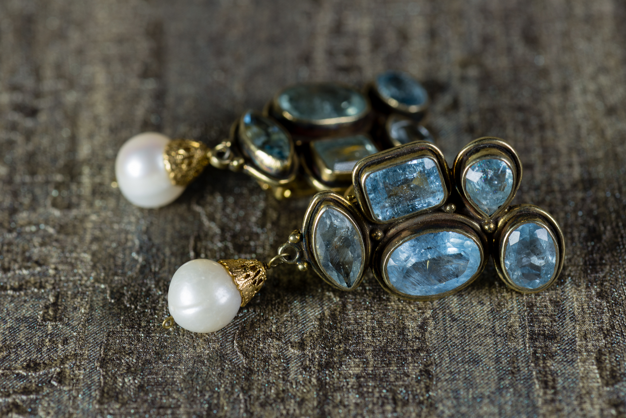 Eli pearl clip earrings l pez linares for Lin s jewelry agana guam