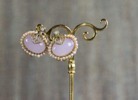 pendientes-plata-dorada-vintage-song-rosa (2)