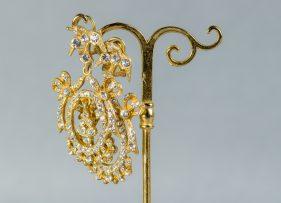 pendientes-plata-dorada-vintage-lopez linares-paraiso-pequeño-oro (2)