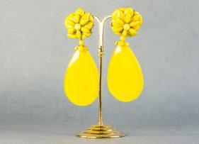 pendientes-swarovski-vintage by lopez linares-noria-amarillo (2)