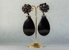 pendientes-swarovski-vintage by lopez linares-noria-negro (2)
