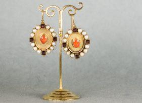 pendientes-plata-dorada-vintage by lopez linares-claire-coral (1)