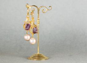 pendientes-plata-dorada-vintage by lopez linares.marialucrecia de medici (3)