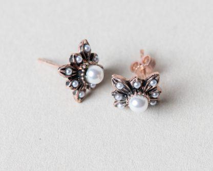Pendientes Lindu reproduccion de una joya Victoriana