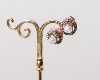 Pendientes Piedade reproduccion de una joya Victoriana