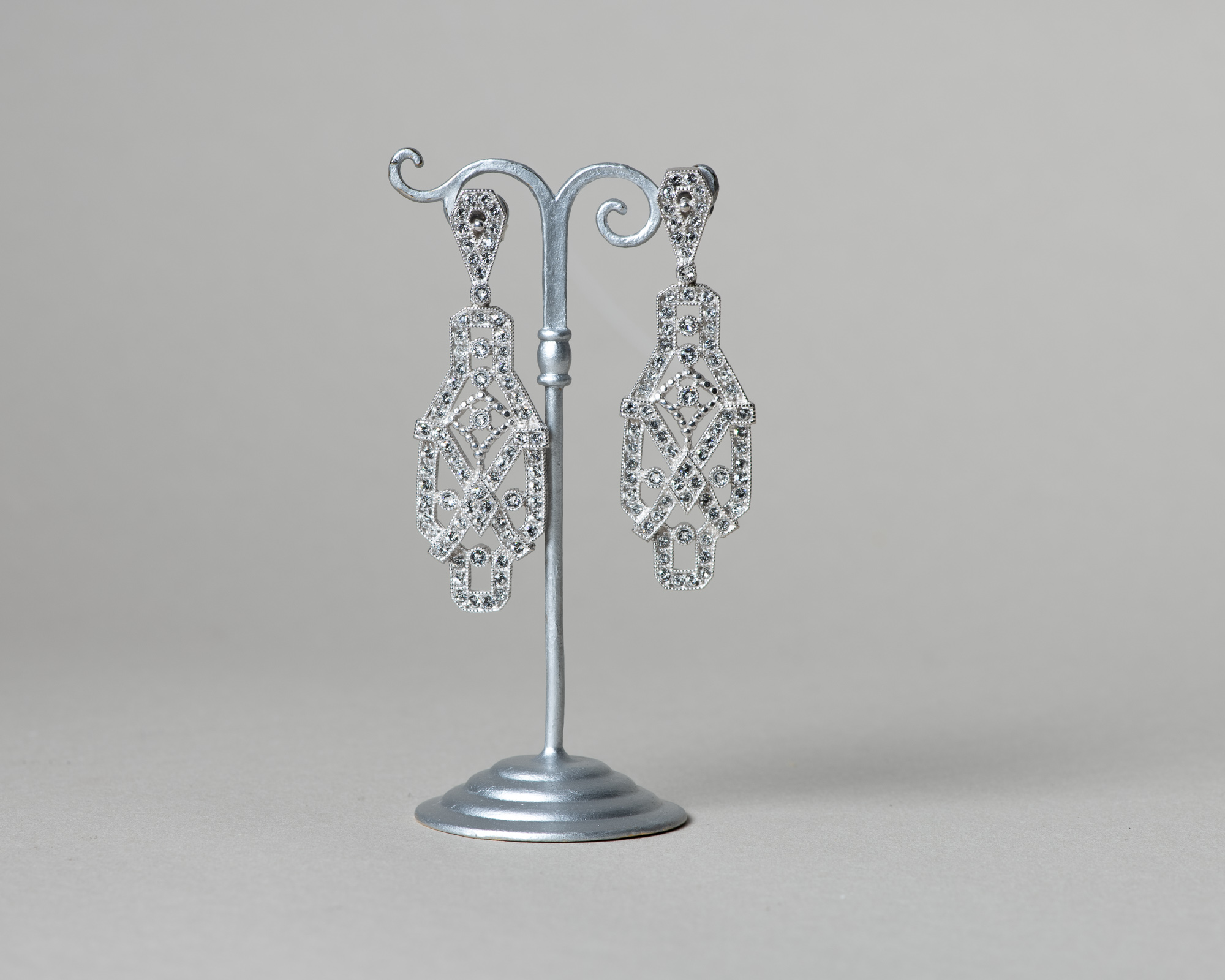 Pendientes Safi. Art Deco